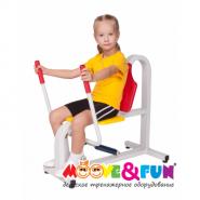 Детский тренажёр жим от груди Moove&Fun  MF-E06