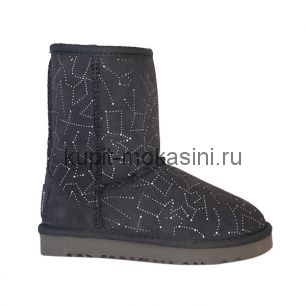Kid's Classic Short Constellation Grey - Детские Угги Короткие Constellation Серые
