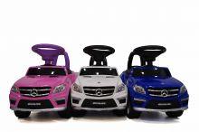 Детская машина-каталка толокар River Toys Mercedes-Benz A888AA, красный