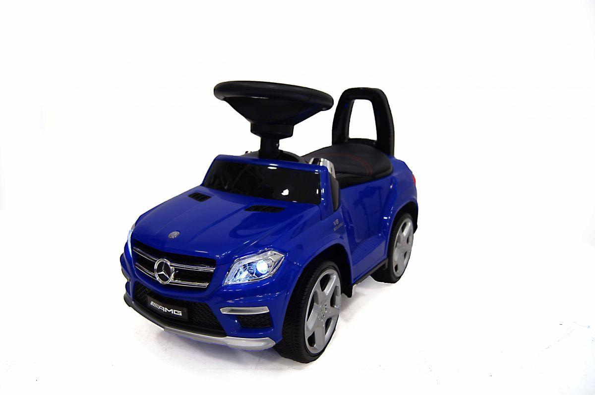 Детская машина-каталка толокар River Toys Mercedes-Benz A888AA, синий