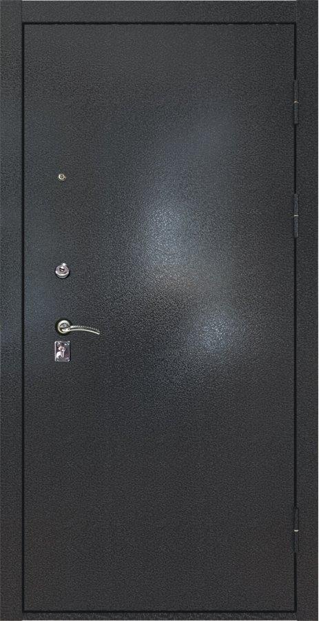 Металлическая дверь Люксор №2 серебряный антик