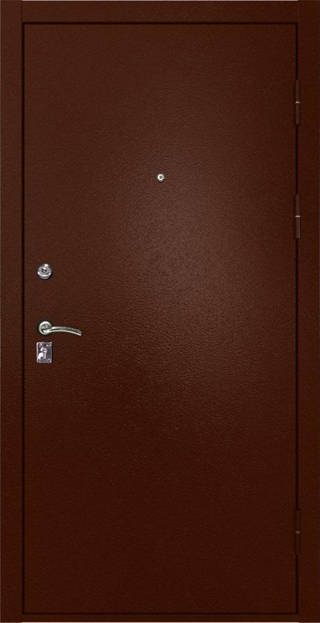 Металлическая дверь Luxor 4 медный антик