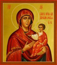 Дарование молитвы икона Божией Матери (рукописная)