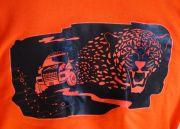 Символ гепарда (на спине толстовки)