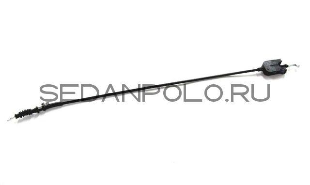 Гибкая тяга замка двери (к наружной ручке) POLO sedan (VAG)