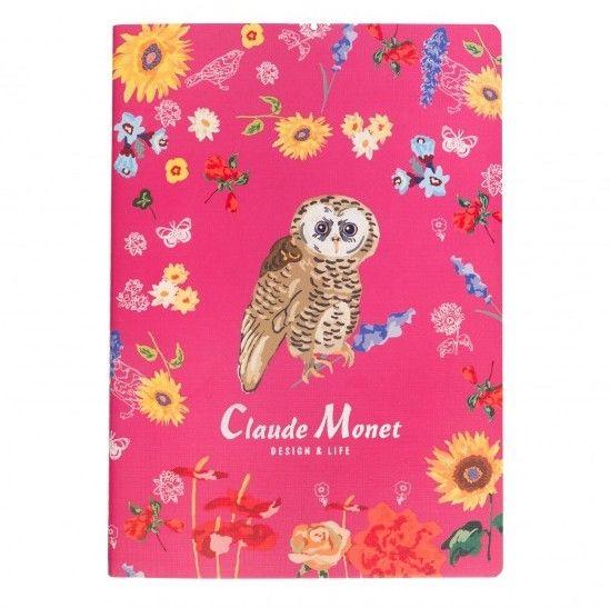 Тетрадь Б5 «Claude Monet» - Pink