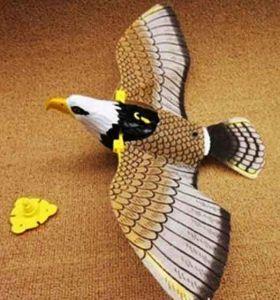 Орел летающий на леске