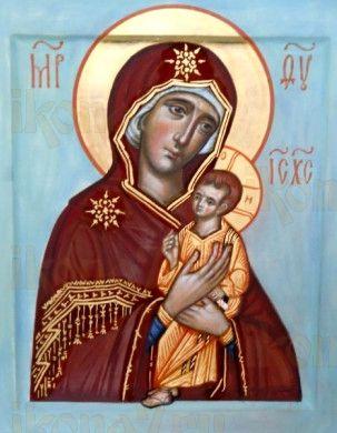 Пименовская икона Божией Матери (рукописная)