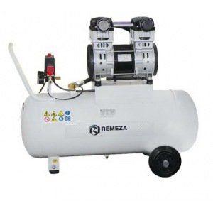компрессор безмасляный поршневой 200 л/мин, 8 бар, 1,5 кВт. 220 В, ресивер 50 л.