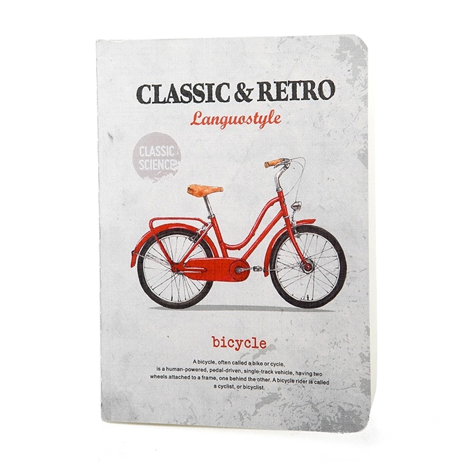 Тетрадь «Retro & Classic» - Bicycle