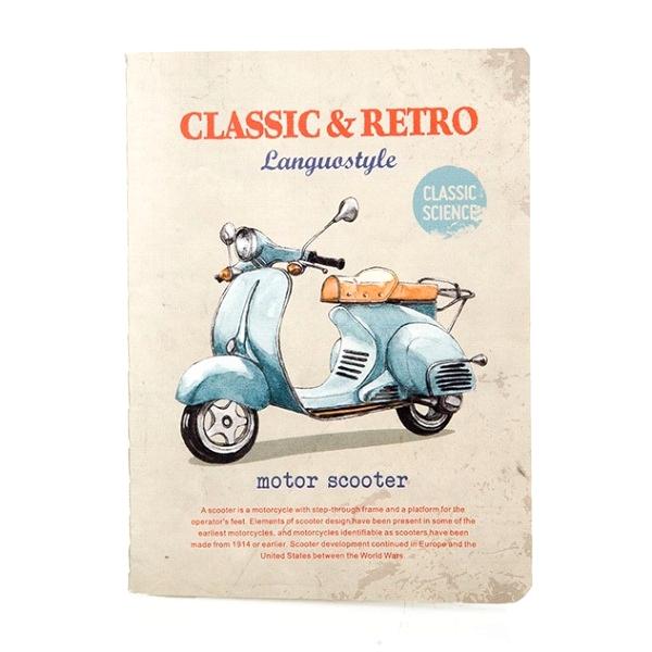 Тетрадь «Retro & Classic» - Scooter