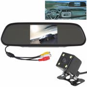 Зеркало Монитор заднего вида автомобиля 5.0 дюймов экран