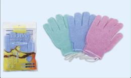 Массажные перчатки-мочалка для ванны 2шт
