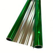 Плёнка металл, зелёная, 200 гр, 70 см*7,5 м