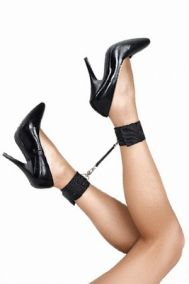 Оковы для ног Lola Toys Bondage Collection Ankle Cuffs черные