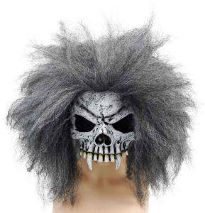 Полумаска череп пирата