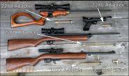 "МАМБА - КИТ - набор для перевода на воздух ""RU Guns Lab"" CROSMAN 2250/2400 Кросман 2250/2400"