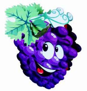 Набор Пакетов бумажных Виноград (5 шт)