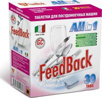 FeedBack Таблетки All in 1 для посудомоечных машин