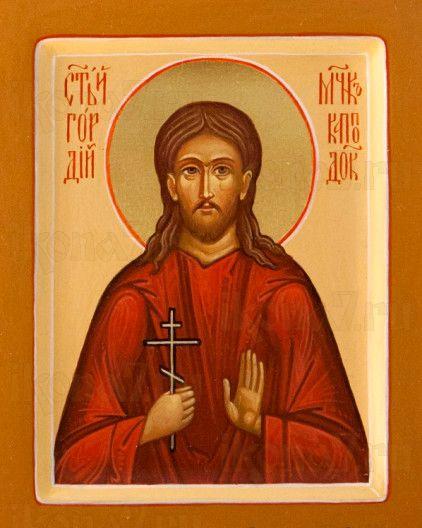 Икона Гордий Каппадокийский (рукописная)