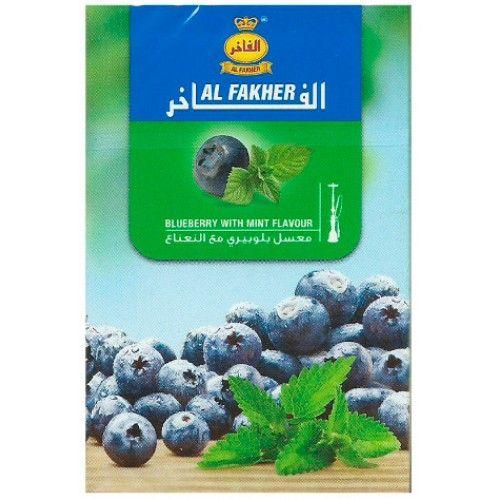 Al Fakher Blueberry Mint