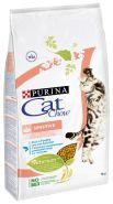 CAT CHOW Sensitive Корм для кошек с чувствительным пищеварением и чувствительной кожей (15 кг)