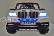 Детский электромобиль River Toys BMW T005TT 4x4 белый