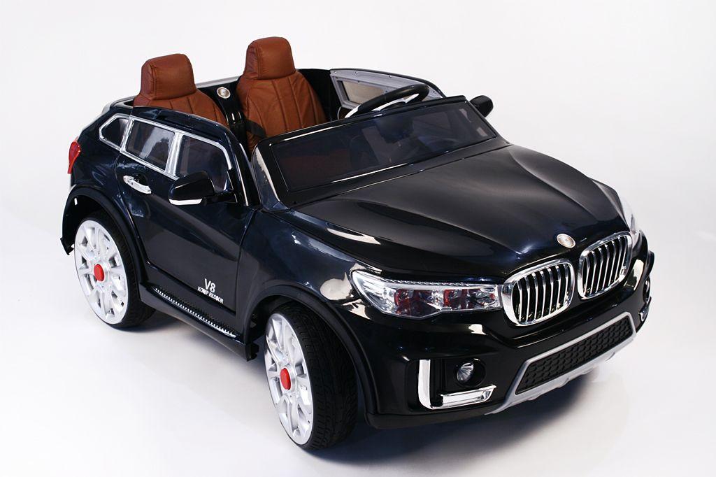 Детский электромобиль River Toys BMW M333MM черный