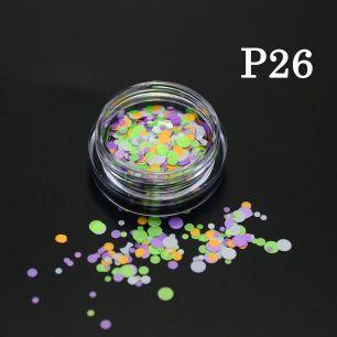 Флуоресцентные камифубики P26
