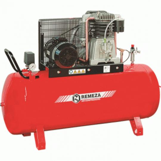 компрессор поршневой 850 л/мин, 10 бар, 5.5 кВт. 380 В, ресивер 500 л.