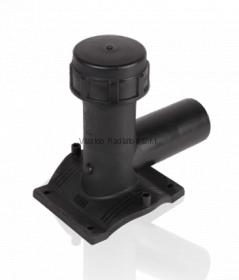 Седельный патрубок (седелка) для врезки под давлением 90x63 (SDR11, PE100) ROFITT