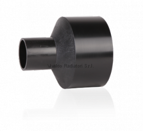 Переход литой ПНД 400-200мм (SDR11, PE100) ROFITT