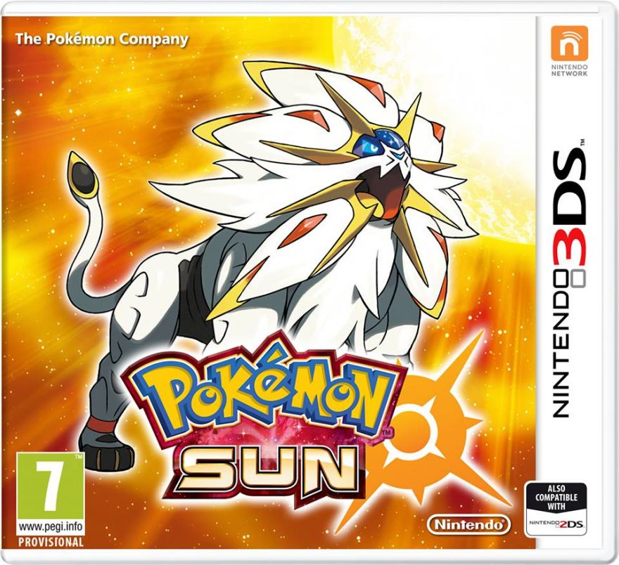 Игра Pokemon Sun (Nintendo 3DS)