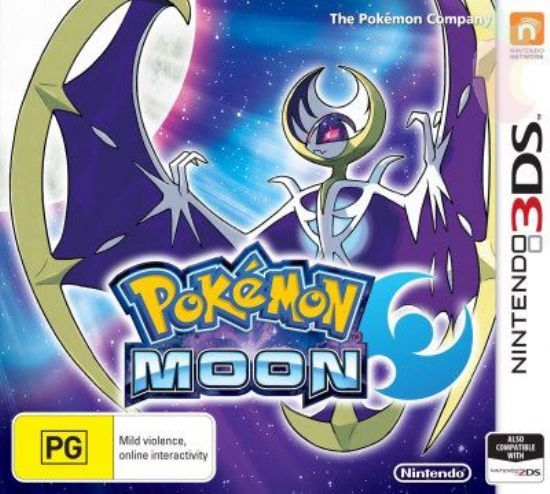 Игра Pokemon moon (Nintendo 3DS)