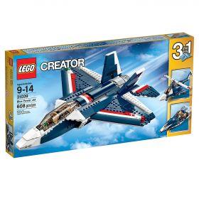 Lego Creator 31039 Синий реактивный самолет #