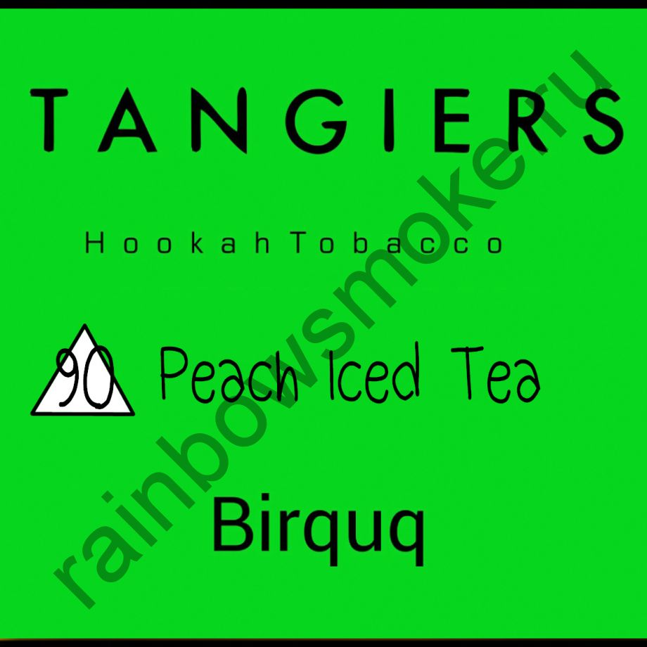 Tangiers Birquq 250 гр - Peach Iced Tea (Персиковый чай со льдом)