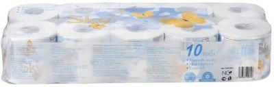 Туалетная бумага GOTAIYO трехслойная Sky с ароматом ментола 10 рулонов индивидуальная упаковка