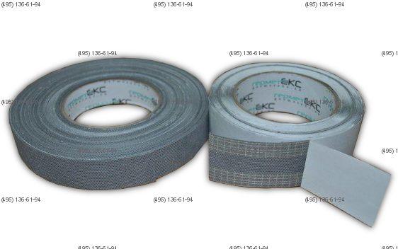 Лента микропористая для зашиты торцов поликарбоната 25 мм, рулон 25 м