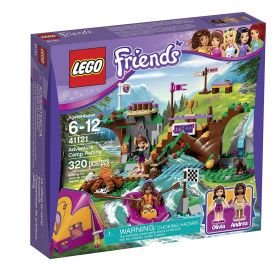 Lego Friends 41121 Спортивный лагерь: сплав по реке #