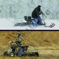 Лыжный модуль для мотобуксировщика Мухтар 15