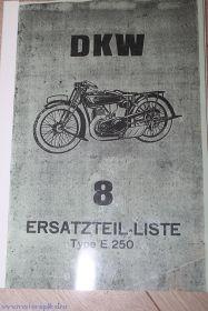 Каталог з/ч DKW E250, E300
