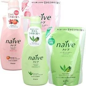 Kracie Naive Бальзам-ополаскиватель для сухих волос восстанавливающий