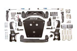 Лифт-комплект 7″  Suspension Lift Kit с Carrier Bearing Drop Kit - Toyota Tundra 2007-2014 4WD