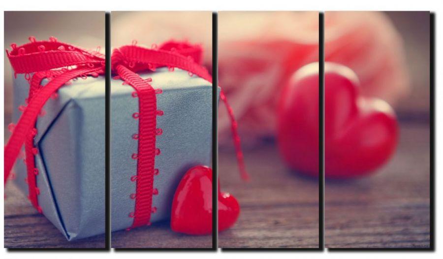 Модульная картина Подарок любимому человеку
