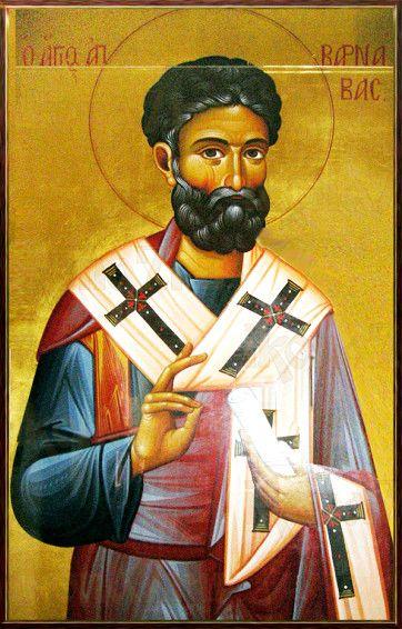 Варнава, апостол от 70-ти (рукописная икона)