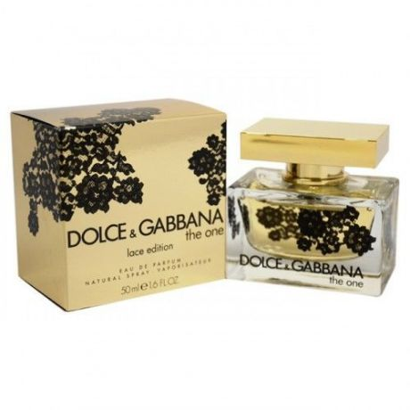 """Парфюмерная вода Dolce and Gabbana """"The One lace edition"""", 75 ml"""