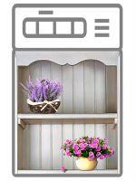 Наклейка на посудомоечную машину —  Прованс 3d, купить | Интерьерные наклейки