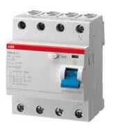 УЗО ABB 4-пол. 4мод F204 AC-100/0,03
