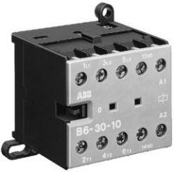 Миниконт. ABB В6-40-00 9A (400В AC3) катушка 24В АС