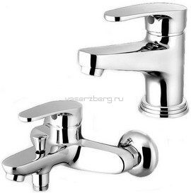 Elghansa Nordik-4 2323842 Комплект смесителей (Ванна+умывальник)